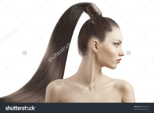 stock-photo-very-attractive-young-brunette-with-long-hair-and-tail-and-creative-hair-style-looking-luxory-and-92565919